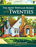img - for The Most Popular Homes of the Twenties (Dover Architecture) book / textbook / text book