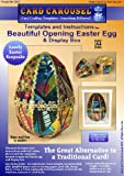 Card Making Templates for Opening 3D Easter Egg and Display Box