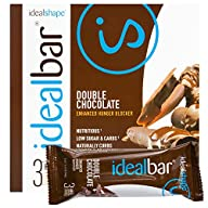 IdealBar Meal Replacement Snack Bar (Double Chocolate) By IdealShape. Stop the Cravings. Feel Full…