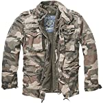 Brandit Men's M-65 Giant Jacket Light Woodland