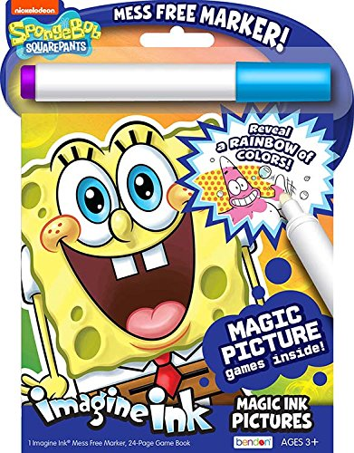 Bendon Inc. SpongeBob SquarePants- Imagine Ink Activity Book