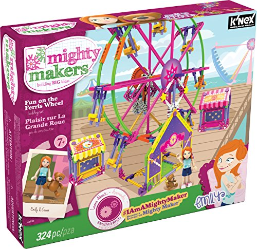 K'NEX Mighty Makers Fun On The Ferris Wheel JungleDealsBlog.com