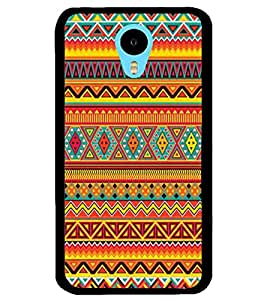 ColourCraft Tribal Pattern Design Back Case Cover for MEIZU M1 NOTE