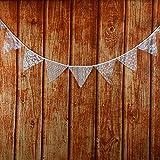 banderines de tela para fiestas, cumpleaños, aniversario de boda
