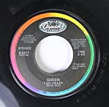 QUEEN 45 RPM I GO CRAZY / RADIO GA GA