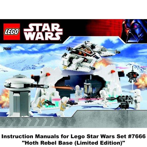 Instruction Manuals For Lego Star Wars Set 7659 Imperial Landing