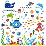 Under The Sea Submarine Nursery Wall Sticker Decals