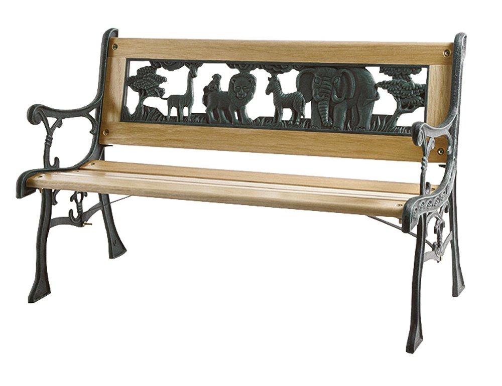 my garden 1002331 kinder bank gartenbank kinderbank akazienholz breite 75cm weiss gr n jetzt kaufen. Black Bedroom Furniture Sets. Home Design Ideas