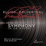 GOLDENTHAL. Symphony In G# Minor. Pacific Symphony/St.Clair