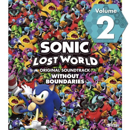 SONIC LOST WORLD ORIGINAL SOUNDTRACK WITHOUT BOUNDARIES Vol. 2 (Sonic Lost World Soundtrack compare prices)