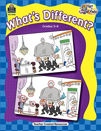 What's Different? Grades 5-6 (Start to Finish)