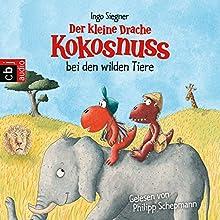 Der kleine Drache Kokosnuss bei den wilden Tieren (Der kleine Drache Kokosnuss 25) Hörbuch von Ingo Siegner Gesprochen von: Philipp Schepmann