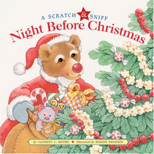A Scratch & Sniff Night Before Christmas (Scratch & Sniff) (Hardcover)