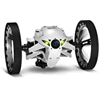 Parrot Jumping Sumo Mini Robot Insect Drone (White) - Certified Refurbished