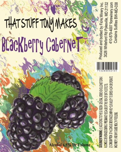 Nv That Stuff Tony Makes Blackberry Cabernet Sauvignon 750 Ml