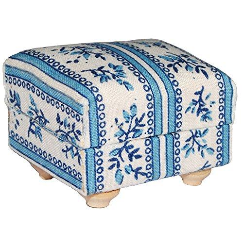 Miniatur Couch Hocker / Sofa Hocker - für Puppenstube