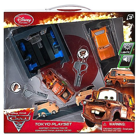 Disney / Pixar CARS 2 Movie Exclusive Tokyo Playset - 1