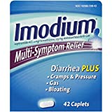 Imodium Multi-Symptom Relief Caplets, 42 Count