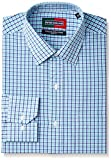 Peter England Men's Formal Shirt (8907411638810_PSF31600972_42_Blue )