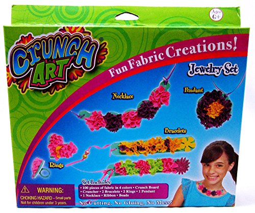 Little Kids Crunch Art Jewelry Set - 1