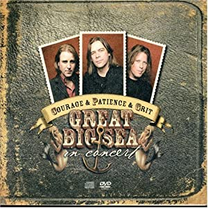 Courage & Patience & Grit: In Concert (CD/DVD)