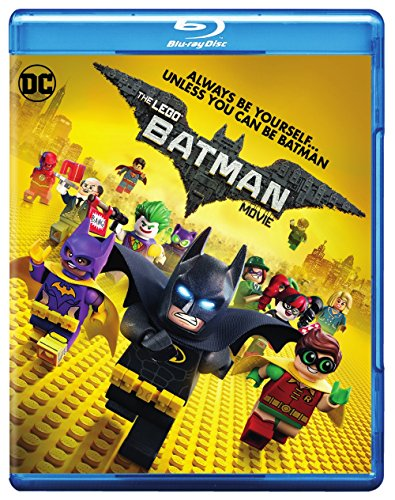 Blu-ray : The Lego Batman Movie (With DVD, Ultraviolet Digital Copy, 2 Pack, Digitally Mastered in HD, 2 Disc)