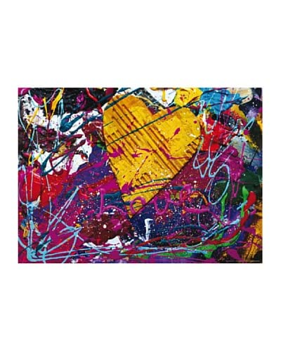 Maxi Poster Pop Heart 160×115 cm