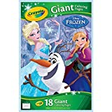 Crayola Disney Frozen Giant 18 Colouring Pages by Crayola