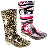 Womens Short Festival Rain Wellies