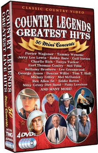 Country Music Legends: 50 Mini Concerts [DVD] [Region 1] [US Import] [NTSC]