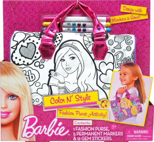 Tara Toy Barbie Color N Style Handbag - 1