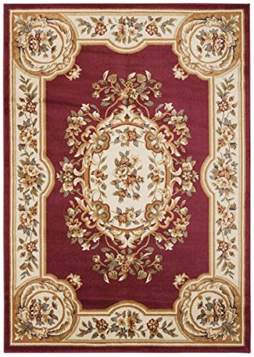 Nourison PAR37 Paramount Rug, Red, 7.1 by 10.6-Feet