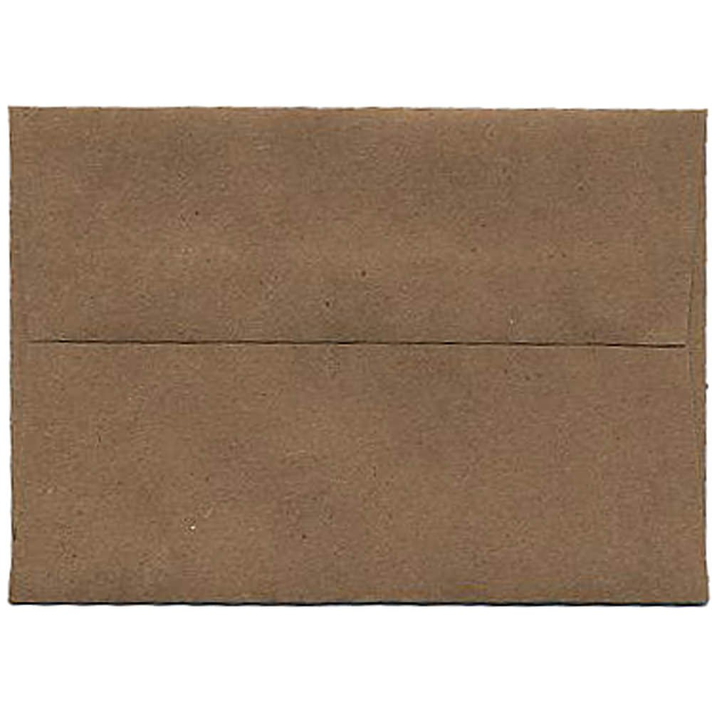 JAM Paper® 4bar A1 (3 5/8 x 5 1/8) Paper Bag 100% Recycled Envelope - Brown Kraft - 1000 envelopes per carton brand new universal one 100% recycled copy paper 92 brightness 20lb 8 1 2 x 11 white 5000 shts ctn