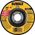 DEWALT DW8424B5 4-1/2-Inch by 0.045-Inch Metal Cutting Wheel, 7/8-Inch Arbor, 5-Pack by DEWALT