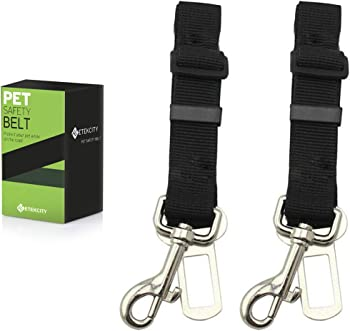 Etekcity 2-Pack Pet Dog Car Seat Belt