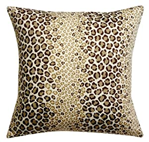 Animal Print Pillows For Couch : Throw Pillows Sofa Couch Accent Pillow Animal Print Fabric Cotton Custom Made in USA 18