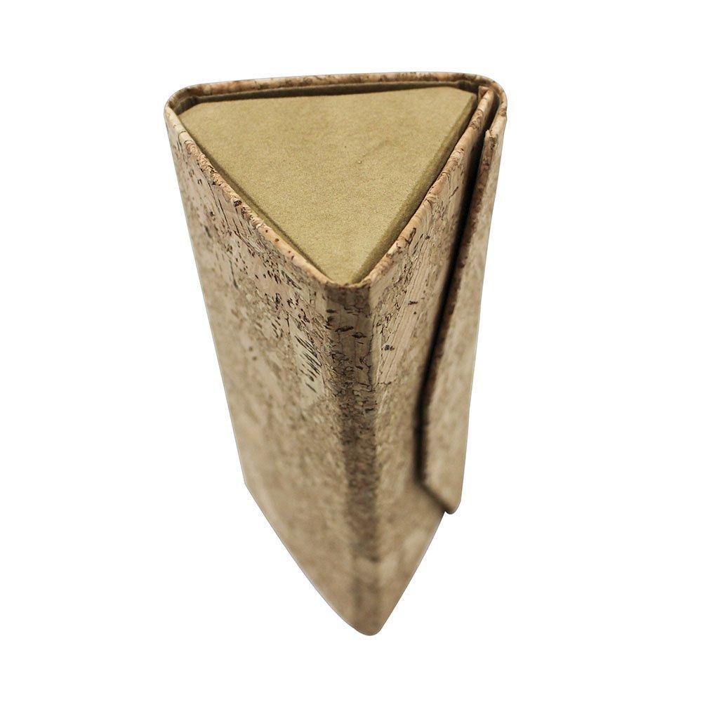 Eyeglasses Case, ASAPS Vintage Foldable Eyeglasses Case (Wood Sawdust) 6