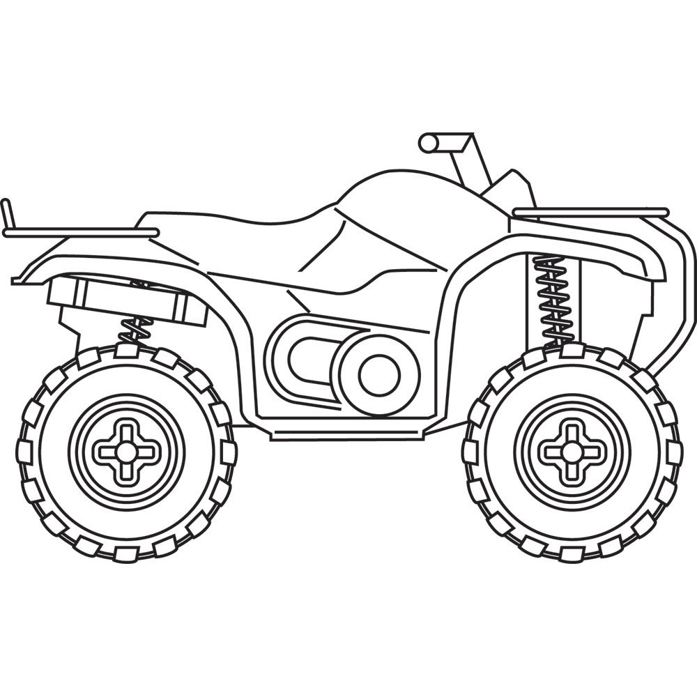 coloring pages of atv - photo #42