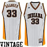 adidas Danny Granger Indiana Pacers Hardwood Classics Throwback Swingman Home Jersey - White (Large) at Amazon.com