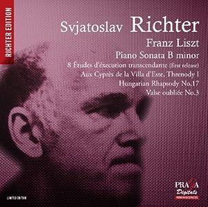 Liszt : Sonate pour piano en si mineur - 8 Études d'exécution transcendante