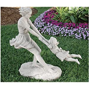 Outdoor Garden Children Statues Statuary