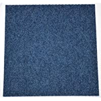 DIY Indoor/Outdoor Anti-Slip Carpet Tile Squares - Stormy Blue