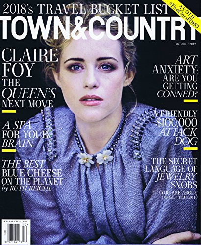 TOWN & COUNTRY October 2017 大きい表紙画像