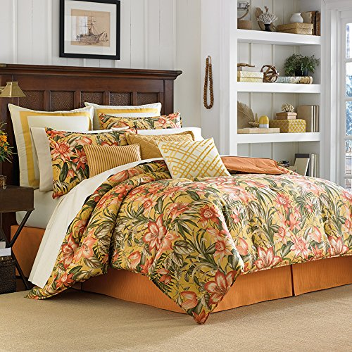 Cal King Comforter Set (Tommy Bahama Tropical Lily) front-787693