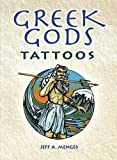 img - for Greek Gods Tattoos (Dover Tattoos) (English and English Edition) book / textbook / text book