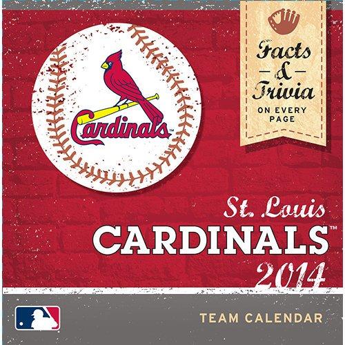 St Louis Cardinals Desk Calendar Cardinals Desk Calendar