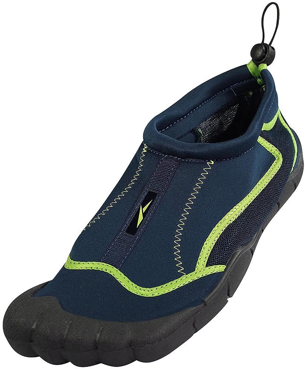 Norty - Mens Skeletoe Aqua Sock Wave Water Shoes Slip On