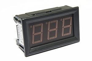SMAKN 0.56 2 Wires Blue DC 3.0v-30v LED Panel Digital Display Voltage Meter Voltmeter