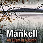 An Event in Autumn Audiobook by Henning Mankell Narrated by Sean Barrett