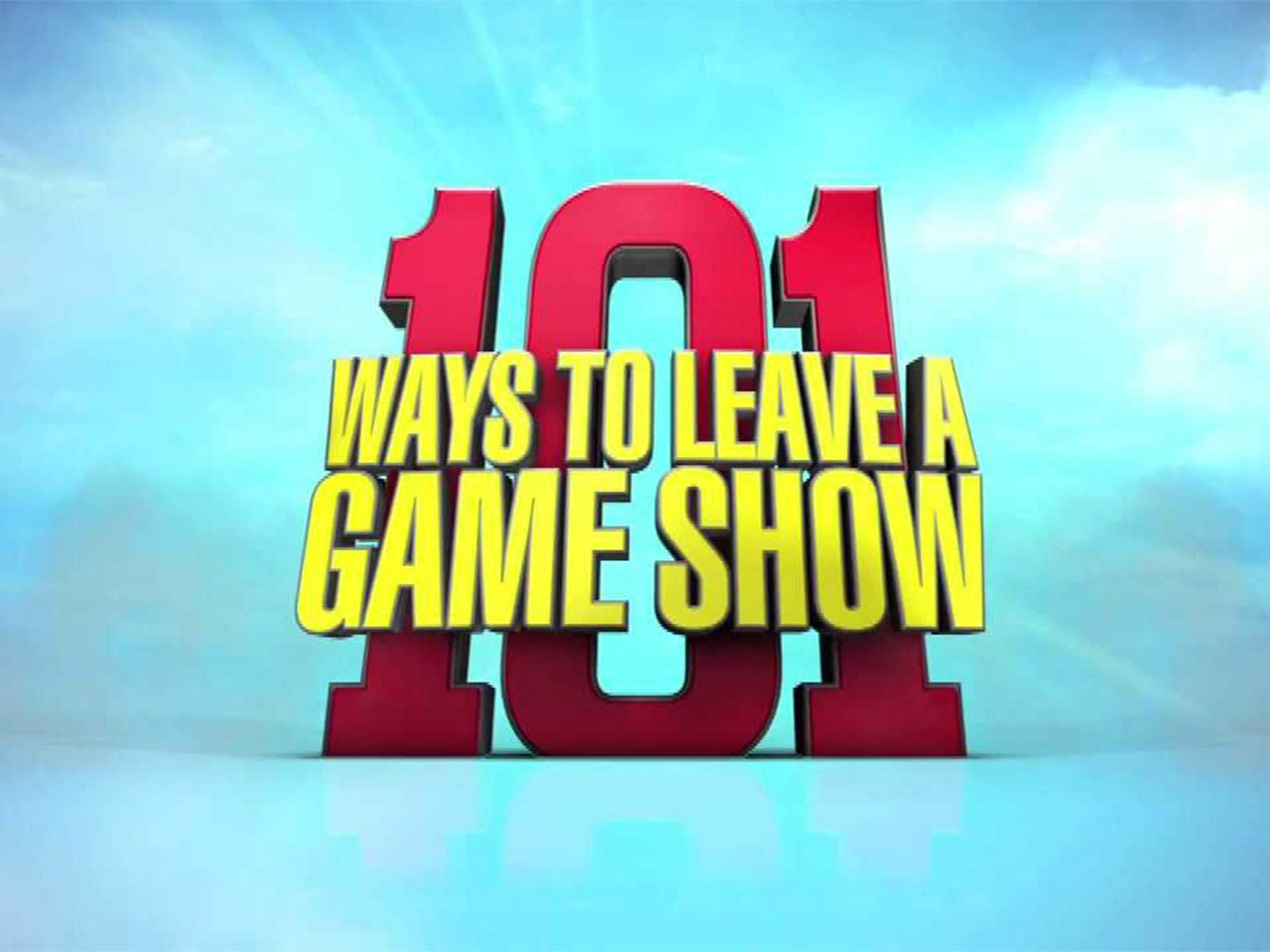 101 Ways To Leave A Gameshow on Amazon Prime Video UK
